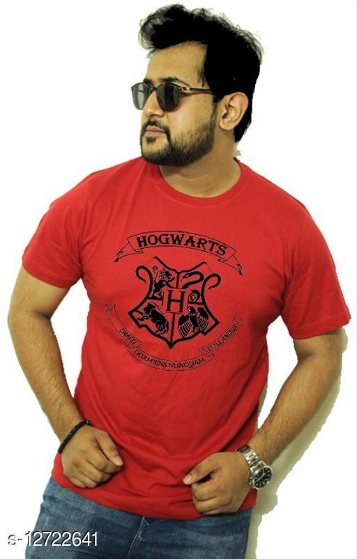 HOGWARTS Cotton Blend T Shirt