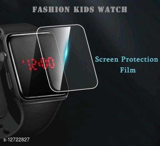 Trendy New design Rubber Belt Digital Watch For Boy