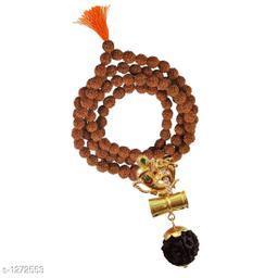 Charming Brass Rudraksha Mala