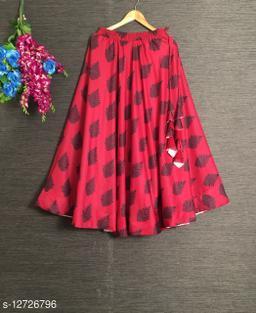 Aagam Graceful Women Ethnic Skirts