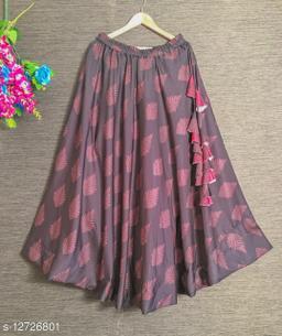 Aakarsha Fashionable Women Ethnic Skirts