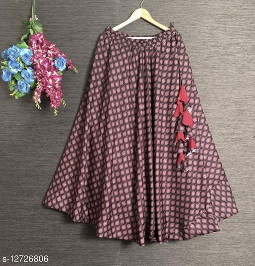 Aakarsha Petite Women Ethnic Skirts