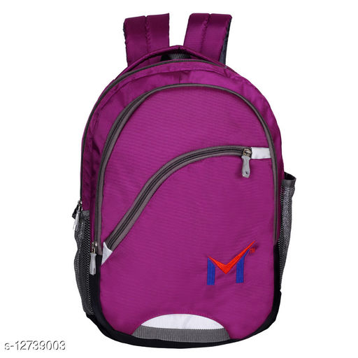 SMS Bag House Polyester Laptop and College bag For Students, Boys, and Girls  Capacity 40 L