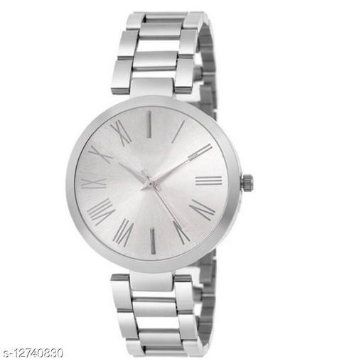Britex silver romen Wrist Watch for women for girls