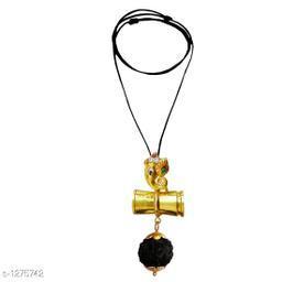 Charming Brass Men's Rudraksha Mala
