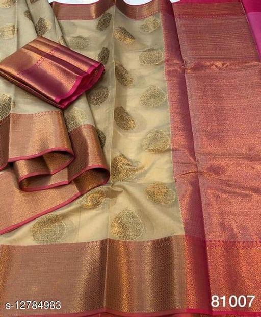 Stylish Banarasi Silk Saree