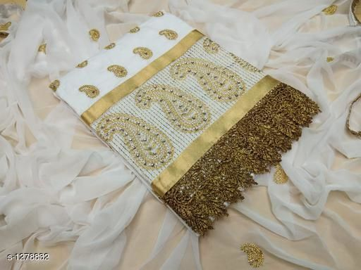 Elegant Cotton Embroidery Suits & Dress Material