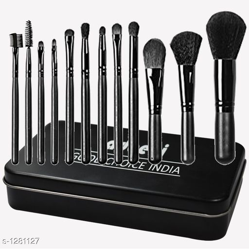 Accessories Standard Choice Makeup Brushes With Storage Box  *Product Name* Adbeni Imported Professional Makeup Brush With Storage Box  *Product Type* Brushes With Storage Box    *Product Description* Good choice India provides you 100% genuine & brand new product...Adbeni Branded Make Up Brush Beauty is Dressing tools to help you achieve this beautiful desire! Make up an art, in accordance with the requirements of the professional make up and make up tool design, unique design style of brush designed for different parts of the face and body