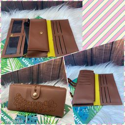 fancy Wallet For Women With Embroidary Design