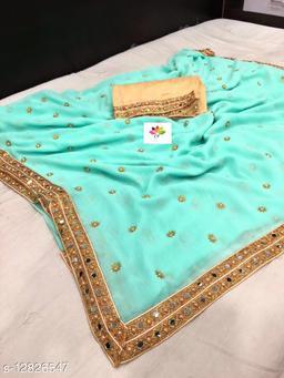 Attractive womens saree