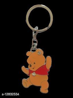 YELLOW BEAR KEY HOLDER FOR BIKE & CARS