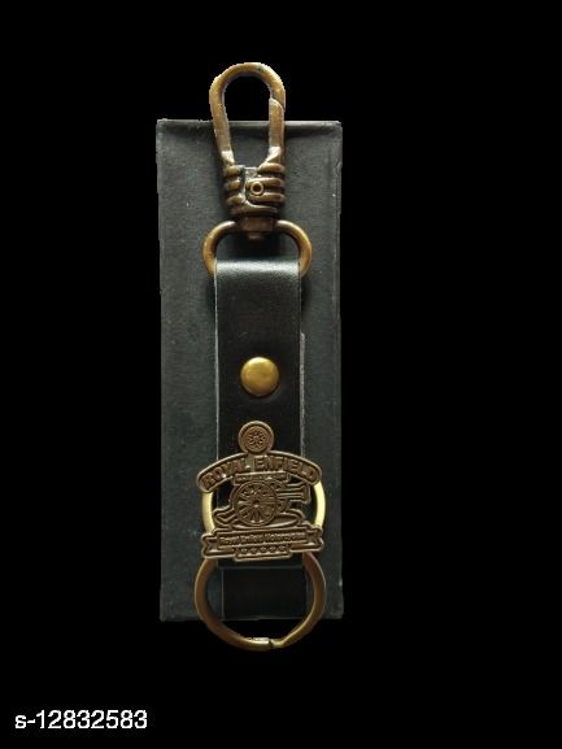 Royal Enfield Bike Long Leather Key Chain & Key Holder