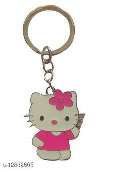 Kitty Pink doll Keychain ,home, bike, school beg