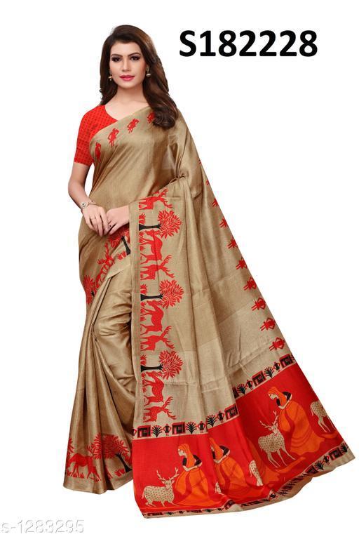 Fashionable Khadi Women Saree