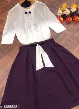 Trendy Unique Knee Logth Dress