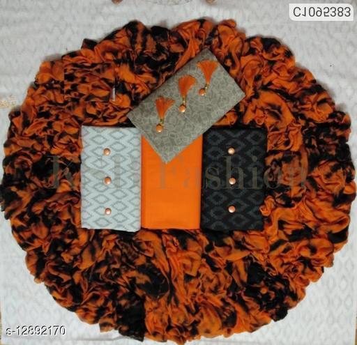 Pure Cotton 3Top Unstitch Dress