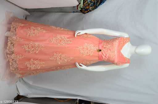 Party Wear Embroidered Designer Gown