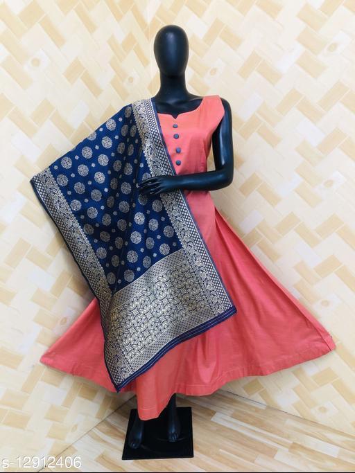 Women Bamboo Anarkali Gown