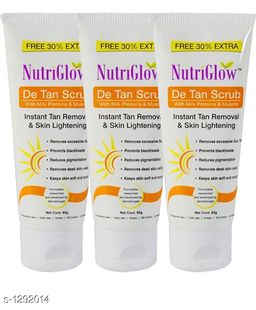 Unique Choice Standard Face Care Scrub ( Pack Of 3 )