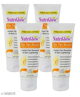 Unique Choice Standard Face Care Scrub ( Pack Of 4 )