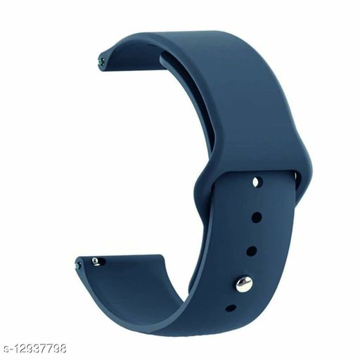Silicone Band  Quick Release Straps (Midnight Blue)