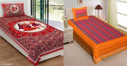 Red Dandiya With Yellow ZicZac
