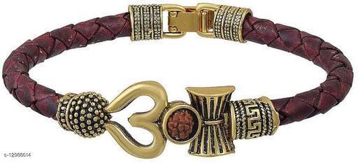 Leather Bracelet & kada for men