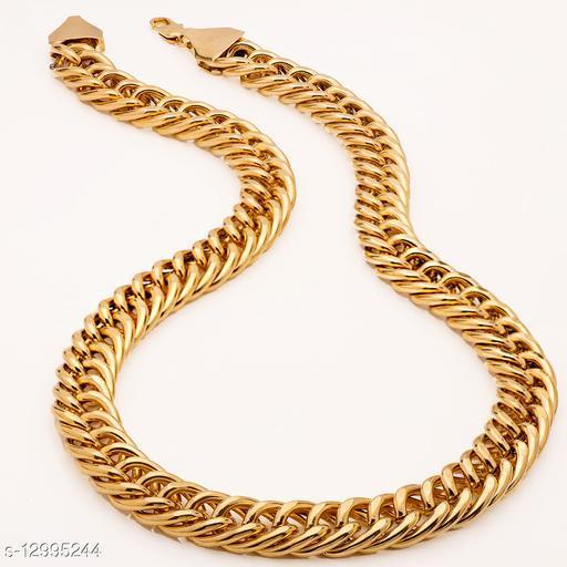 Thrillz Badshah Gold Plated Designer Chain