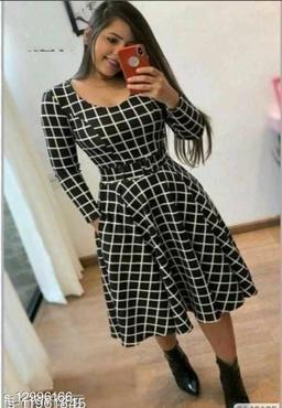 Fine Amrerican crepe dress
