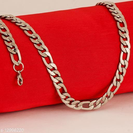 Thrillz Elegant & Stylish Link Matte Finish Stainless Steel Chain For Men & Boys