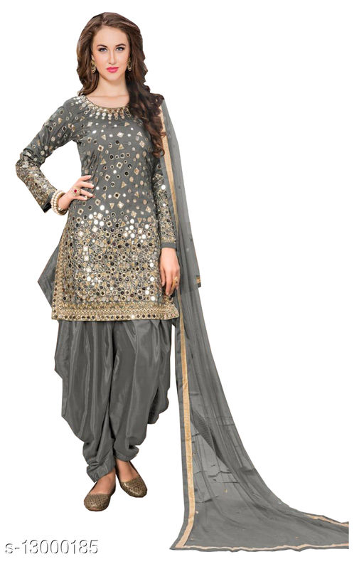 Alluring Semi-Stitched Suits and Dress Material