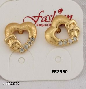 Stylish Look One Pair of Earrings GER2550SRS