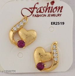 Stylish Look One Pair of Earrings GER2519SRS