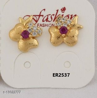 Stylish Look One Pair of Earrings GER2537SRS