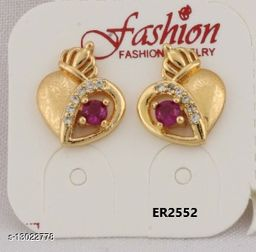 Stylish Look One Pair of Earrings  GER2552SRS