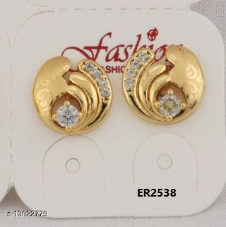 Stylish Look One Pair of Earrings GER2538SRS