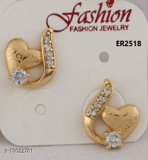 Stylish Look One Pair of Earrings GER2518SRS