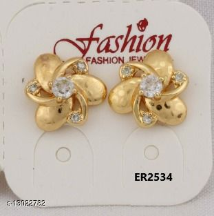 Stylish Look One Pair of Earrings GER2534SRS