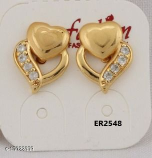 Stylish Look One Pair of Earrings GER2548SRS