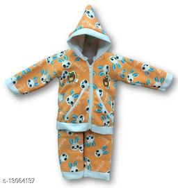 Toddler Choice Boys and Girls Top and Bottom Thermal Wear Set