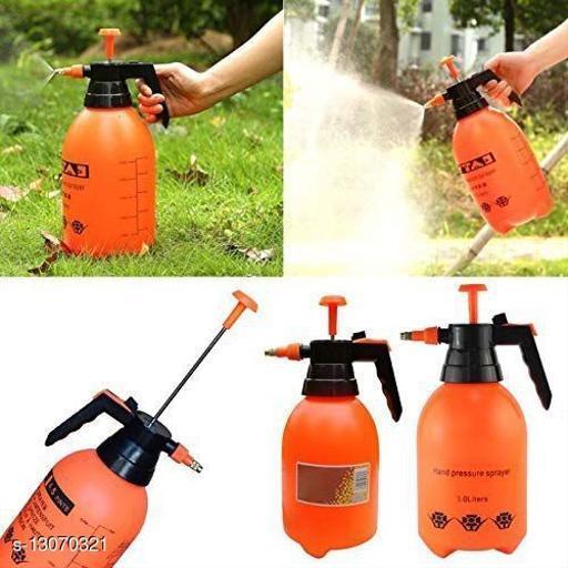 1 Pc Garden Pump Pressure Sprayer,Lawn Sprinkler,Water Mister,Spray Bottle for Herbicides, Pesticides, Fertilizers, Plants Flowers 2 Liter Capacity