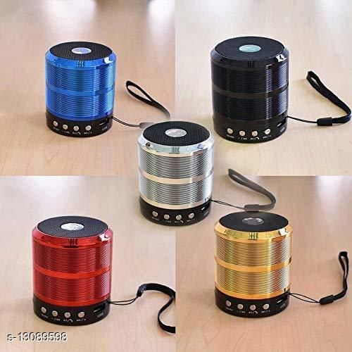 (ASSORTED COLOUR )WS-887 Mini Bluetooth Speaker with FM Radio, Memory Card Slot, USB Pen Drive Slot, AUX Input Mode( ANY COLOUR)