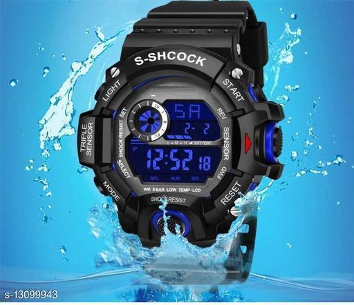 Skylark Smart Digital BLUE Excellent 7 Light Watch For boys Digital Watch - For Men Awesome Digital watch Digital Watch - For Boys