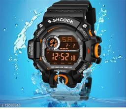 Skylark Digital Orange Excellent 7 light Watch For boys Digital Watch - For Men Awesome Digital watch Digital Watch - For Boys