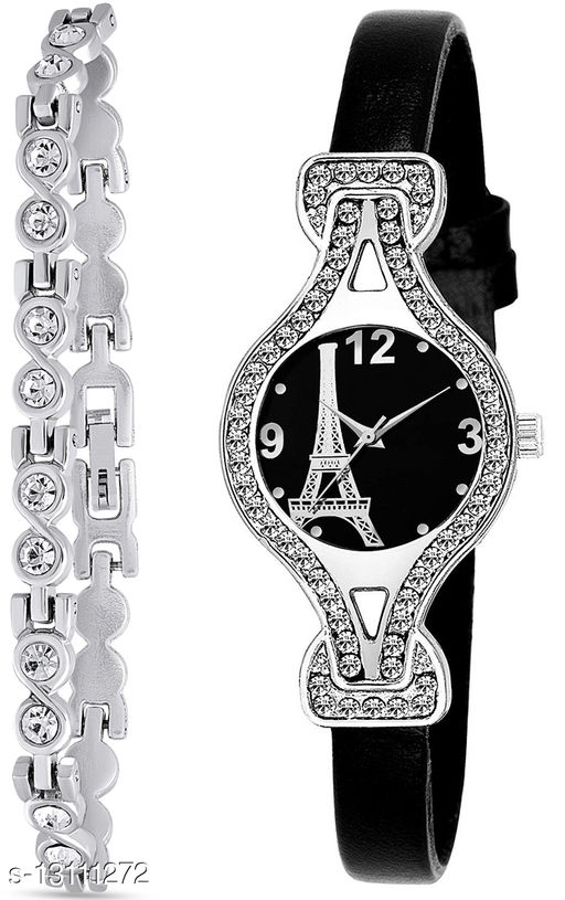 J2 & L937 Attractive Combo With One jewellery And Atterective watch For jewellery & Women