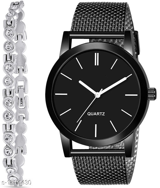 J2 & K184 Attractive Combo With One jewellery And Atterective watch For jewellery & Men