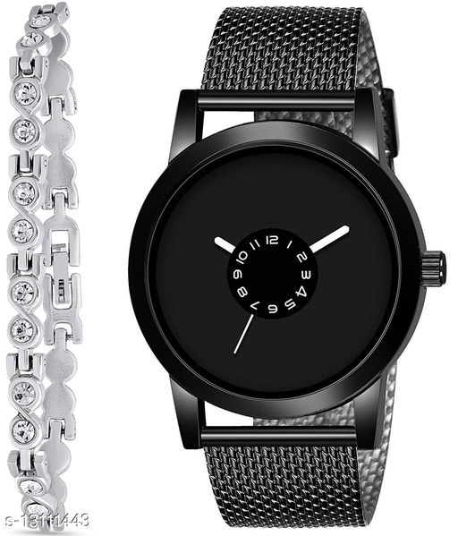 J2 & K183 Attractive Combo With One jewellery And Atterective watch For jewellery & Men