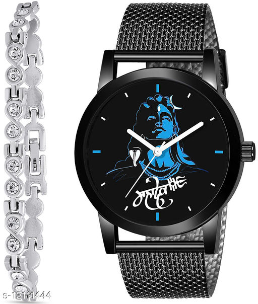 J2 & K181 Attractive Combo With One jewellery And Atterective watch For jewellery & Men