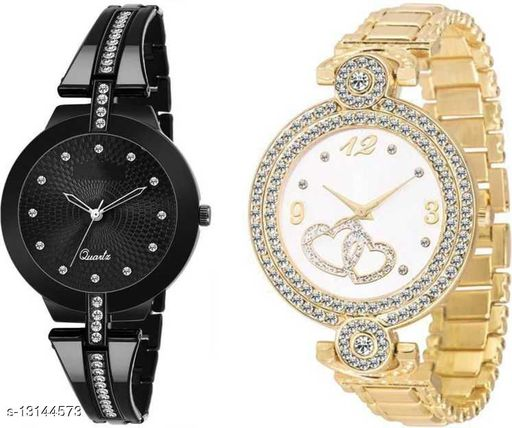 Combo Of 2 Analog Watch For Women