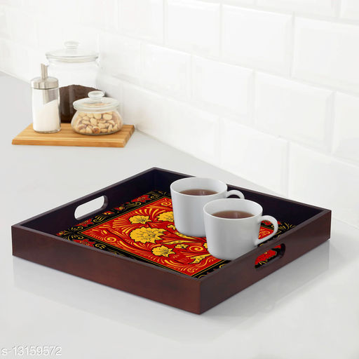 Colorful Trays